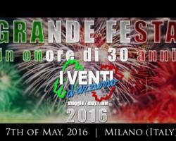 I Venti D'Azzurro 30 Anniversary Party!