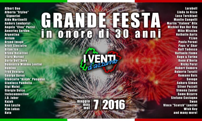 30 years of IVentid'Azzurro