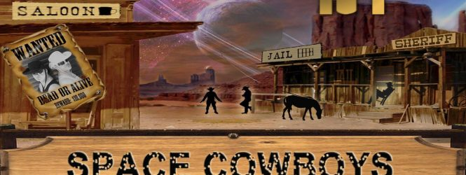 SpaceAnthony & ThunderBoy presents – Space Cowboys – SpaceSynth show