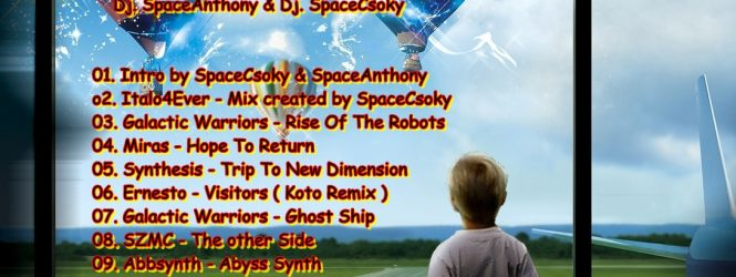 Adventure in The World of Spacesynth Music – Show 18 – Playlist