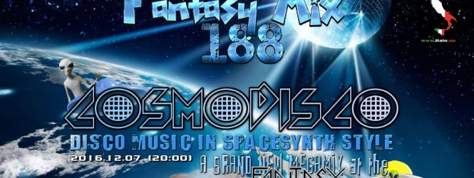 SpaceAnthony Presents – Cosmodisco – Exclusiv SpaceSynth show