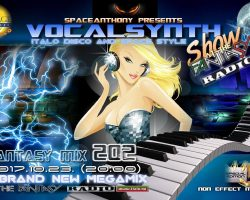 SpaceAnthony presented – Vocalsynth Mix – Fantasy Mix 202