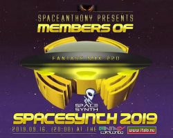 SpaceAnthony  presented –   Members of –                           SpaceSynth  2019 mix 220