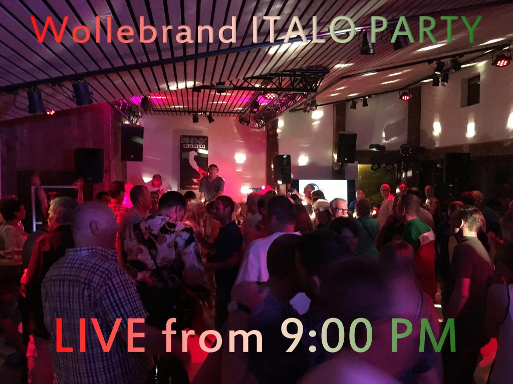 Live italo party broadcasting
