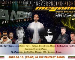 SpaceAnthony  presents exclusiv show !!!   Vanello – Neverending Night  – MegaMix –
