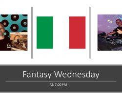 Fantasy Wednesday