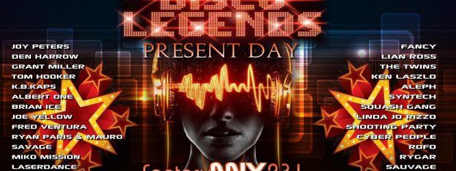 SpaceAnthony Presents – Disco Legends Present Day